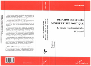 Couverture CITOYENNES (DES) SUISSES CONTRE L'ÉLITE POLITIQUE