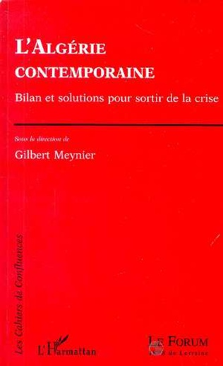 Couverture L'ALGERIE CONTEMPORAINE