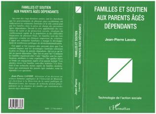 Couverture FAMILLES ET SOUTIEN AUX PARENTS AGES DEPENDANTS
