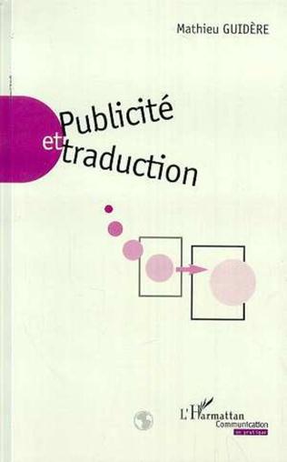 Couverture PUBLICITÉ ET TRADUCTION