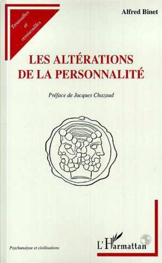 Couverture LES ALTERATIONS DE LA PERSONNALITE
