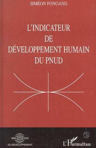 Couverture L'INDICATEUR DE DÉVELOPPEMENT HUMAIN DU PNUD