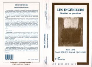 Couverture LES INGENIEURS