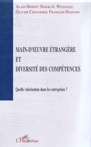 Couverture MAIN-D'ŒUVRE ETRANGERE ET DIVERSITE DES COMPETENCES