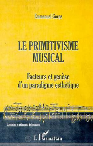 Couverture LE PRIMITIVISME MUSICAL