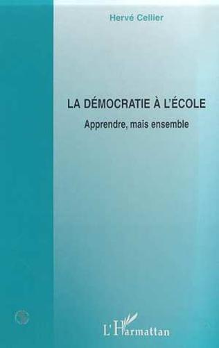 Couverture LA DEMOCRATIE A L'ECOLE