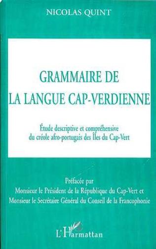 Couverture GRAMMAIRE DE LA LANGUE CAP-VERDIENNE