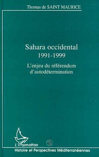 Couverture SAHARA OCCIDENTAL 1991-1999