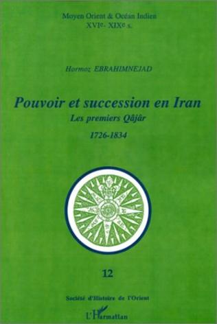 Couverture POUVOIR ET SUCCESSION EN IRAN