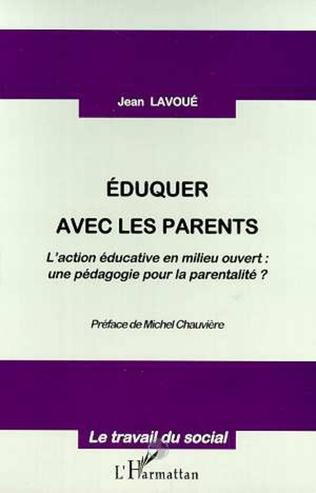 Couverture EDUQUER AVEC LES PARENTS