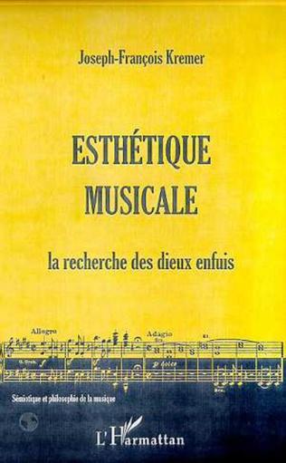 Couverture ESTHETIQUE MUSICALE