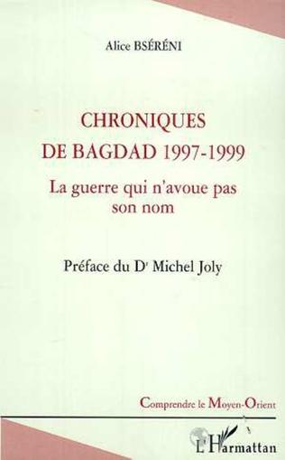 Couverture CHRONIQUES DE BAGDAD 1997-1999