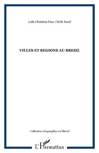 Couverture VILLES ET REGIONS AU BRESIL