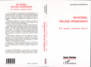 Couverture HYSTERIE TRANSE POSSESSION