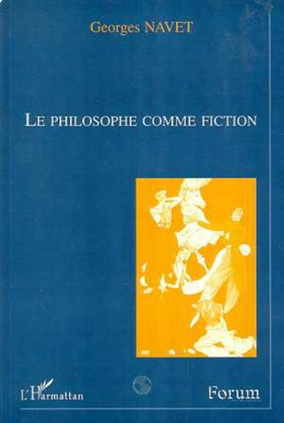 Couverture Le philosophe comme fiction