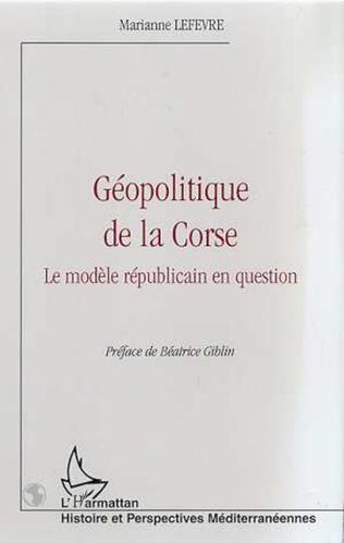 Couverture GEOPOLITIQUE DE LA CORSE