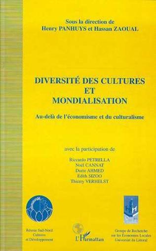 Couverture DIVERSITE DES CULTURES ET MONDIALISATION