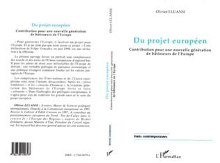 Couverture Du projet européen