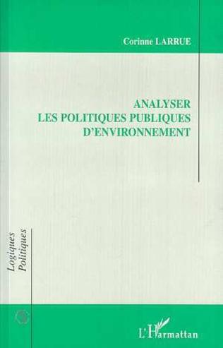 Couverture ANALYSER LES POLITIQUES PUBLIQUES D'ENVIRONNEMENT