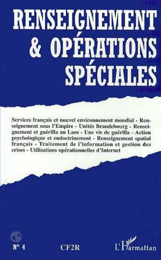 Couverture RENSEIGNEMENT ET OPERATIONS SPECIALES N°4