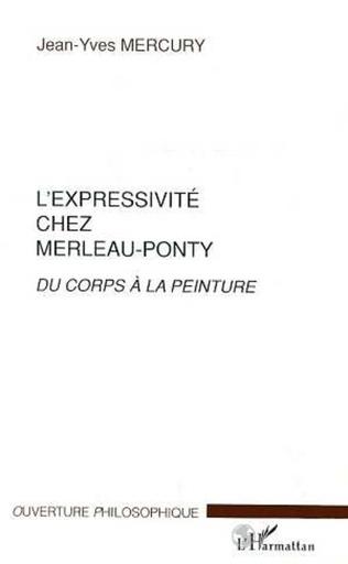 Couverture L'EXPRESSIVITE CHEZ MERLEAU-PONTY