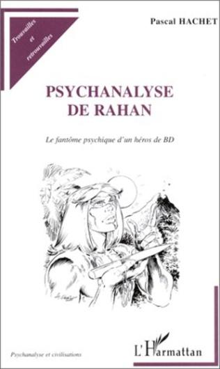 Couverture PSYCHANALYSE DE RAHAN