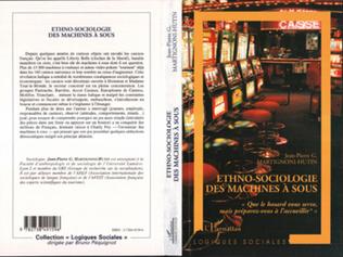 Couverture ETHNO-SOCIOLOGIE DES MACHINES A SOUS