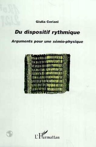Couverture DU DISPOSITIF RYTHMIQUE