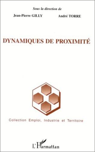 Couverture DYNAMIQUES DE PROXIMITÉ