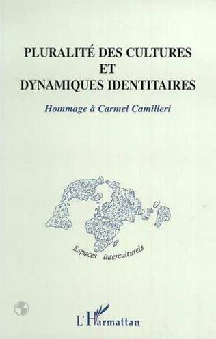 Couverture PLURALITÉ DES CULTURES ET DYNAMIQUES IDENTITAIRES