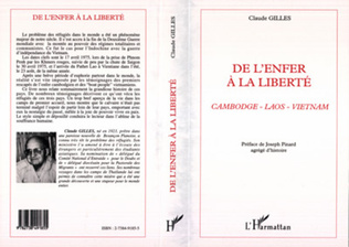 Couverture ENFER (DE L') A LA LIBERTE