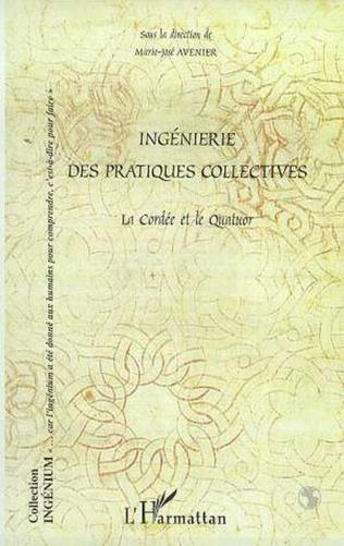 Couverture INGENIERIE DES PRATIQUES COLLECTIVES