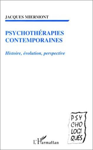 Couverture PSYCHOTHERAPIES CONTEMPORAINES