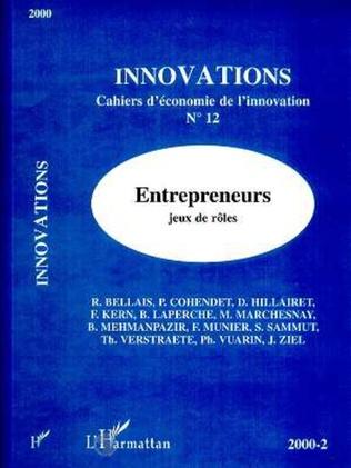 Couverture Entrepreneurs, jeux de rôles