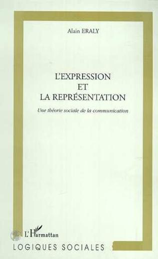 Couverture L'EXPRESSION ET LA REPRESENTATION
