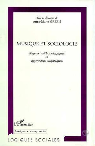 Couverture MUSIQUE ET SOCIOLOGIE