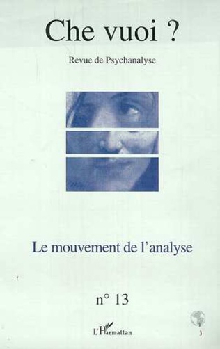 Couverture LE MOUVEMENT DE L'ANALYSE