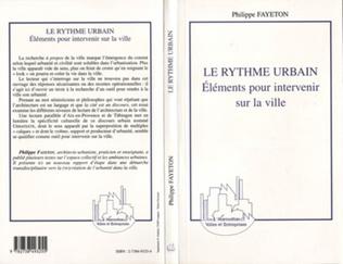 Couverture LE RYTHME URBAIN