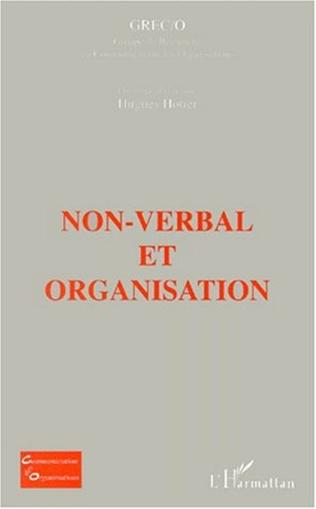 Couverture NON-VERBAL ET ORGANISATION