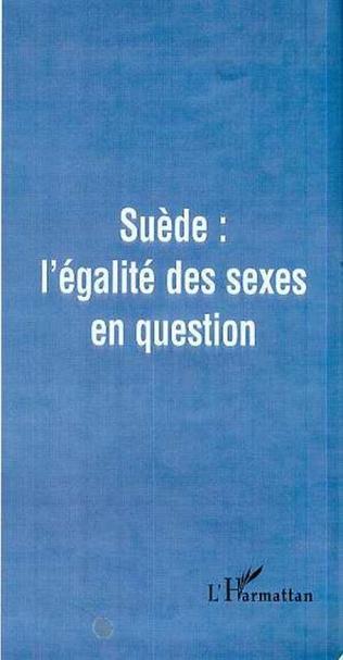 Couverture SUEDE : L'EGALITE DES SEXES EN QUESTION