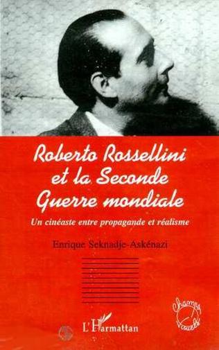 Couverture ROBERTO ROSSELLINI ET LA SECONDE GUERRE MONDIALE