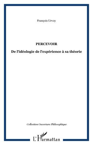Couverture PERCEVOIR