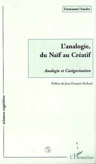Couverture L'ANALOGIE, DU NAÏF AU CREATIF