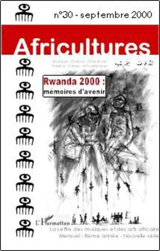 Couverture Rwanda 2000 : mémoires d'avenir