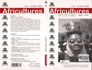 Couverture Pistes pour le Bénin