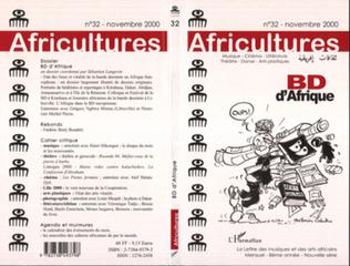 Couverture BD d'Afrique