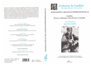 Couverture RATIONALITÉ ET RELATIONS INTERNATIONALES (2)
