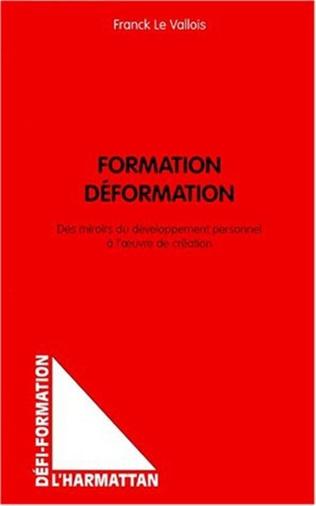 Couverture FORMATION DÉFORMATION