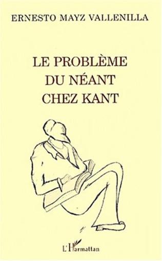 Couverture LE PROBLEME DU NEANT CHEZ KANT