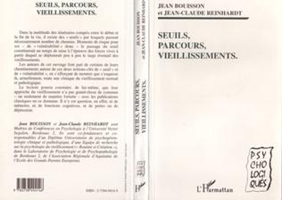 Couverture SEUILS, PARCOURS, VIEILLISSEMENTS